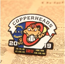 Baseball Team Custom Enamel Pins No Minimum