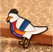 Handsome Dove Custom Lapel Pins Small Quantity