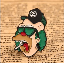 Weirdo Custom Lapel Pins No Minimum