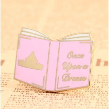 Pink Book Custom Pins No Minimum