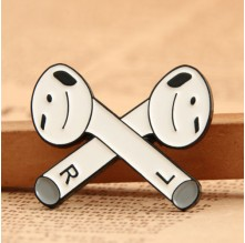 Bluetooth Earphone Custom Lapel Pins No Minimum Order