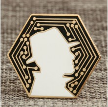 Detective Personalized Lapel Pins