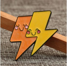Cute Lighting Cheap Custom Enamel Pins