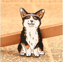 Corgi Custom Pins No Minimum
