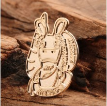 Gold Rabbit Custom Pins Cheap