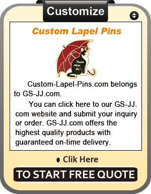 Hard Enamel Lapel Pins for Pretty Boy